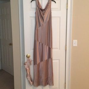 Pale Purple ABS Dress Size 4 good used condition